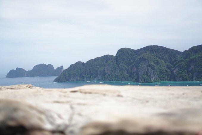 电影《海滩》取景泰国皮皮岛徒步浮潜之行(1)