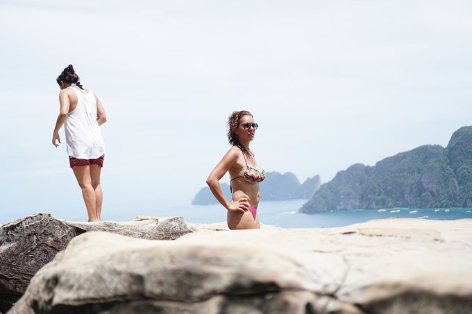 电影《海滩》取景泰国皮皮岛徒步浮潜之行(3)