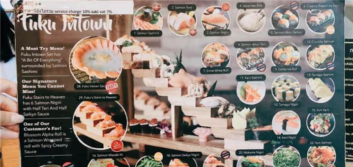 曼谷99元三文鱼自助餐店